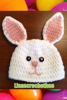 A personal favorite from my Etsy shop https://www.etsy.com/listing/271436844/crochet-bunny-hat