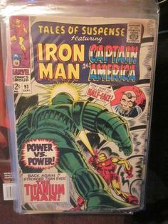 Tales of Suspense #93 Marvel Comics Fine or better range Free Bag & Board FREE SHIPPING 1960's http://graphic-illusion.com $40