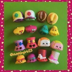 All the Hats! Shoppies Dolls, Shopkins And Shoppies, Ag Dolls, Doll Toys, Barbie Dolls, Shopkins Limited Edition, Shopkins Season 1, Shopkins World, Cute Toys