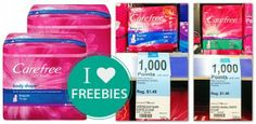 Better-than-Free Carefree Liners at Walgreens!