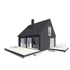 SAARISTO S1 5 Dream Home Design, House Design, Home Fashion, Tiny House, Gazebo, House Plans, Houses, Outdoor Structures, Cabin