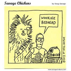 Cartoons on Sticky Notes by Doug Savage Savage Chickens, Sticky Notes, Comic Art, Carpet, Star Wars, Cartoon, Comics, Creative, Funny Stuff