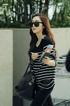 SNSD Jessica Incheon Airport to Hong Kong 131105