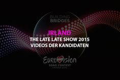 Grand Prix, Eurovision Song Contest, The Late Late Show, Videos, Bridge, Songs, Movie Posters, Europe, Finland
