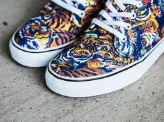 Las nueva zapatillas de Kenzo y Vans