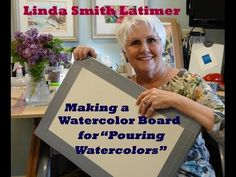 ▶ Making a Watercolor Board for Stretching Watercolor Paper and Pouring Watercolors - YouTube