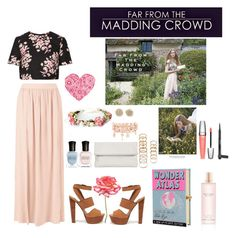 """""""Far from the madding crowd"""" by diyaxox ❤ liked on Polyvore"""