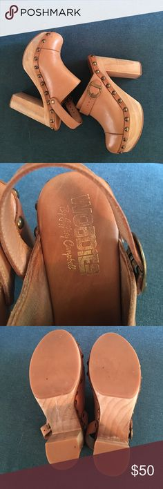 Jeffrey Campbell Woodies Clogs Woodies by Jeffrey Campbell. Size 6M. Great used condition. All studs in tact, some markings on wood heels, soles are in excellent condition. Jeffrey Campbell Shoes Mules & Clogs