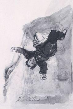 Goya - Nightmare - c.1819