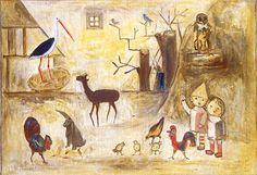 Tadeusz Makowski - Zoo