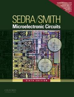 Microelectronic Circuits (Oxford Series in Electrical and Computer Engineering) by Adel S. Sedra http://www.amazon.com/dp/0195323033/ref=cm_sw_r_pi_dp_yNKnub1KW9190