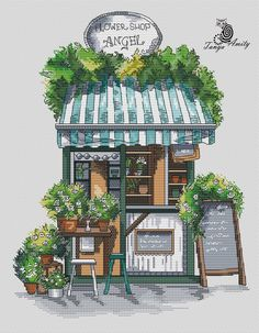 Precious Tips for Outdoor Gardens In general, almost half of the houses in the world… Painting & Drawing, Watercolor Paintings, Watercolour, Watercolor Architecture, Building Illustration, Urban Sketching, Art Drawings Sketches, Watercolor Illustration, Diy Art