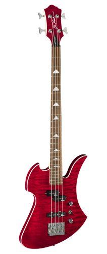 B.C. Rich MPMBDB 4-Strings Bass Guitar, Dragons Blood