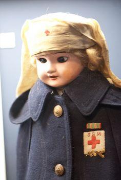 Military Nurse doll