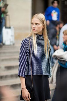 See all the best street style looks from Paris Fashion Week Spring 2016 here: