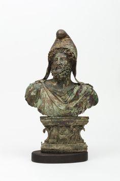 Bust of Sabazios Ancient Rome, Ancient Greece, Ancient History, Roman Artifacts, Ancient Artifacts, Culte De Mithra, Zeus Statue, Art Romain, Museum Studies