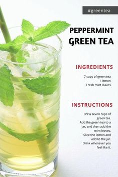 natural delicious detox Pepper Mint Green Tea Drink to lose weight fast Fat Cutter Drink Recipes f natural delicious detox Pepper Mint Green Tea Drink to lose weight fast Fat Cutter Drink Recipes f Macy Greer Workin On My nbsp hellip Fat Burner Drinks, Fat Burning Detox Drinks, Kombucha, Kefir, Makeup Tricks, Green Tea Ingredients, Dr Oz, Detox Cleanse For Weight Loss, Diet Detox