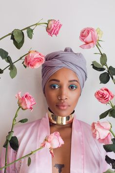 Fanm Djanm Unveils Gorgeous Headwrap Collection | SUPERSELECTED - Black Fashion Magazine Black Models Black Contemporary Artists Art Black Musicians