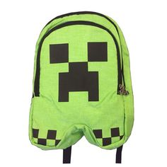 New sell minecraft backpack high quality unisex children mochilas scho 64f2937517785