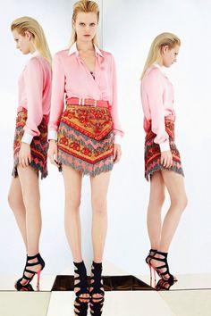 Emilio Pucci Resort 2013-14 / New York. that skirt.