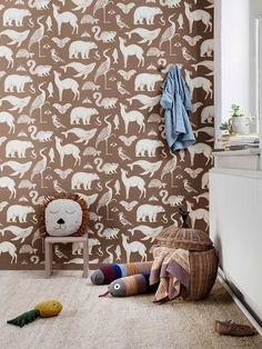 Kids Wallpaper | Unique wallpaper for the kids' room