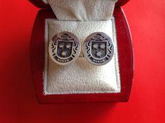 Moran family crest cufflinks