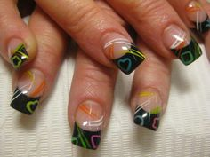 modelo de uñas naturales pintadas