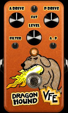 VFE Pedals :: Boutique & Custom Effects :: Dragon Hound parallel drive pedal
