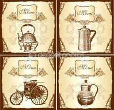 Вот очередные кулинарные рисунки (из моих картиночных запасов) с изображением разной посуды. Авторы рисунков мне неизвестны, я их скачала ...