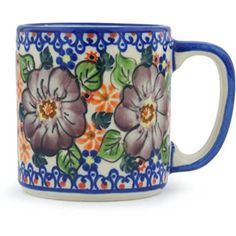 Ceramika Bona H0964H Polish Pottery Ceramic Mug Hand Painted 12Ounce >>> You can get more details by clicking on the affiliate link Amazon.com.