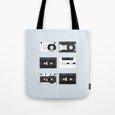 Cassette Pattern #4 | Some kind of nostalgia – I created this artwork to show different designs of the cassette tape. #decoration #unique #design #pattern #music #cassette #cassettes #sound #illustration #illustrator #graphicdesign #digital #stereo #tape #vintage #retro #mixtape #records #nostalgic #Society6 #Totebag