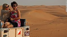 Waves of sand can be seen as far as the horizon. At night the distant lights of Dubai city light up in the distance. Dubai Activities, Desert Safari Dubai, Fun Deserts, Dubai City, Dune, Most Beautiful Pictures, In The Heights, Trip Advisor, How To Find Out