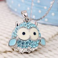 owl necklace..just cute