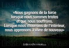 Les Beaux Proverbes – Proverbes, citations et pensées positives » Vivre de nouveau