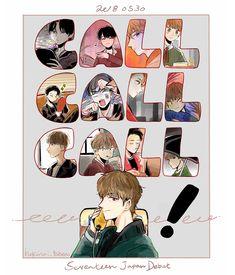 hi wifi , i Seventeen Going Seventeen, Seventeen Memes, Kpop Drawings, Art Drawings, Cartoon Fan, Seventeen Wallpapers, Hip Hop, Bts Chibi, Kpop Fanart