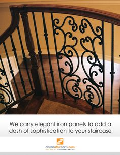 Wrought Iron Baers For Stair Remodel Online