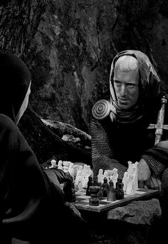 Max Von Sydow in Ingmar Bergman's The Seventh Seal