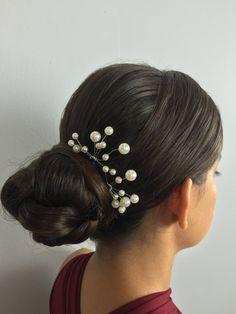 Ivory Pearl Hair Pins, Pearl Pins, Wedding Hair Pins, Wedding Accessories, Pearl, Hair Pins
