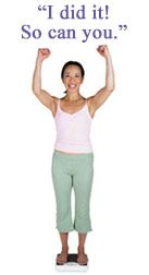 CDC success stories from people who have been able to achieve and maintain a healthy weight.