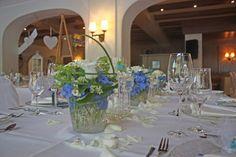 Wedding dinner in blue and cream white at lake Riessersee Hotel, wedding venue in Garmisch, Bavaria, Germany, lake terrace #wedding venue #wedding abroad #Bavaria #Germany #Riessersee at lake Riessersee Hotel, wedding venue in Garmisch, Bavaria, Germany, lake terrace #wedding venue #wedding abroad #Bavaria #Germany #Riessersee