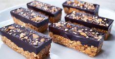 Barres de céréales au chocolat vegan (facile)
