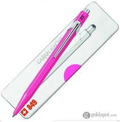 Caran D'ache 849 Popline Ballpoint Pen - Hot Pink