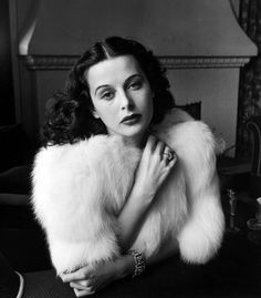 Hedy Lamarr, 1938. By Alfred Eisenstaedt ... NOT just another pretty face, she was an inventor too! http://en.wikipedia.org/wiki/Hedy_Lamarr