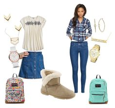 """""""Heidi goes back to school"""" by bearpawstyle on Polyvore"""