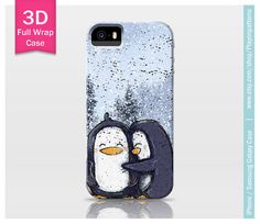 Penguin iPhone 4s case iPhone 5 case iPhone 5s by playonpatterns, $24.99  --//-- expensive, but AAWWWW