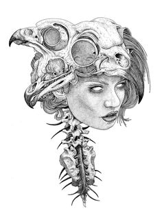 Surreal illustration by Tavo Montañez
