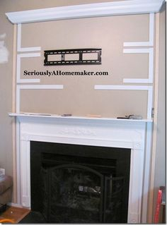 How to Hide TV Cords in Trim Work - Guest Post - Sawdust & Paper Scraps | Sawdust & Paper Scraps