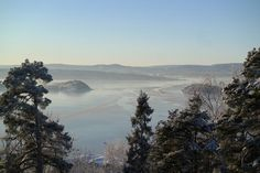 Frosty view Oslo fjord!