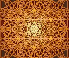 Sacred Geometry poster detail