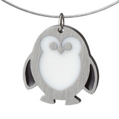 Plump Penguin Is The Perfect Pendant ... #pets #animals ... PetsLady.com